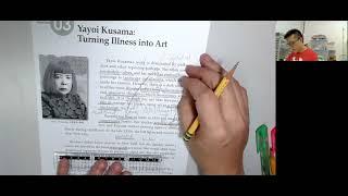 Publication Date: 2021-07-25 | Video Title: Yayoi Kusama  #豐富詞彙結構 #學生有 聖約瑟