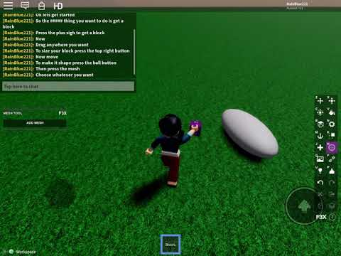 Build Whatever You Want Free Tools Roblox Roblox Build Tool Gear Id Youtube