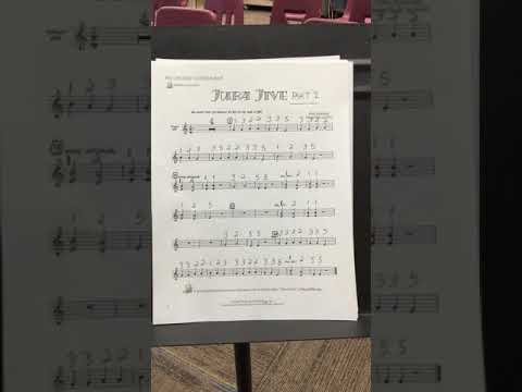 Juba Jive for Recorder   Part 1