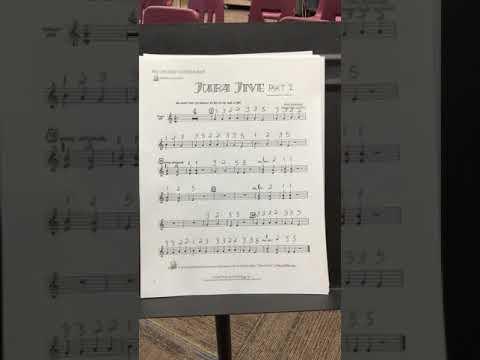 Juba Jive for Recorder   Part 1
