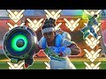 What Top 500 Lucioball Looks Like [Overwatch]