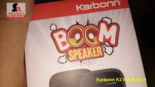 Karbonn K2 Boom Box unboxing and Detailed review hindi