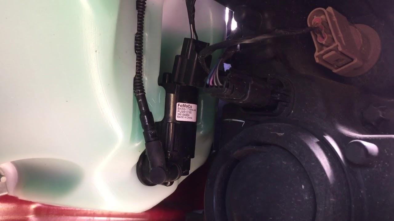 2015 ford f 150 windshield washer pump fix [ 1280 x 720 Pixel ]