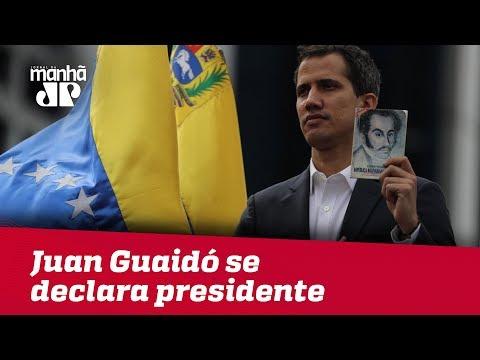 Juan Guaidó se declara presidente interino da Venezuela