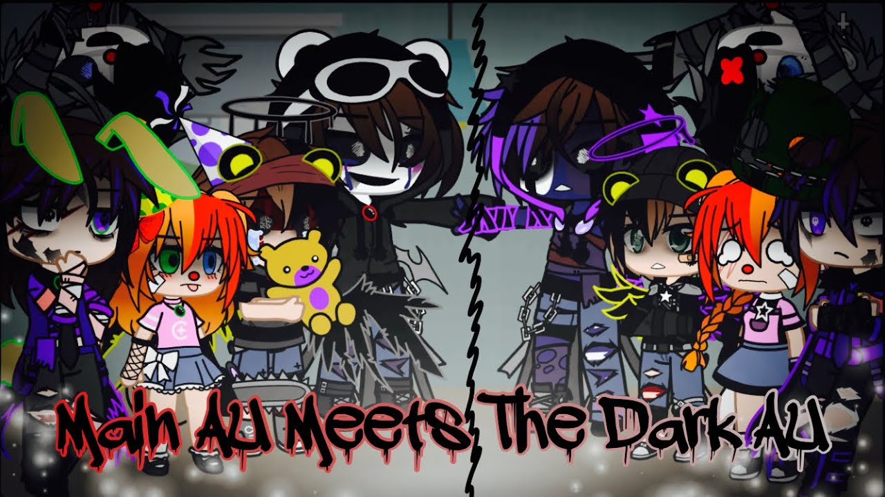 Download Main AU Meets The Dark AU / FNAF