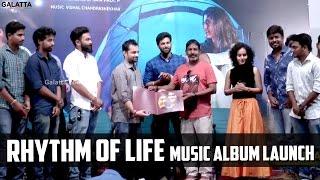 Rhythm of life music album launch