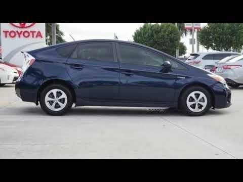 Used 2015 Toyota Prius West Palm Beach Juno, FL #HR4101 ...