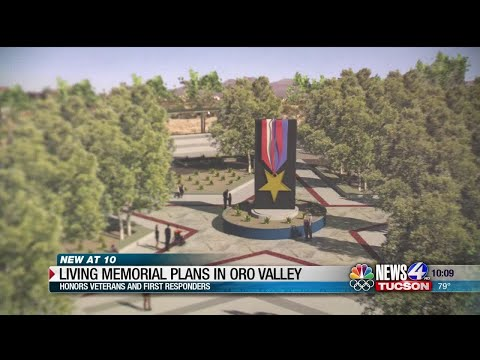 Living Memorial for Veterans and First Responders in Oro Valley