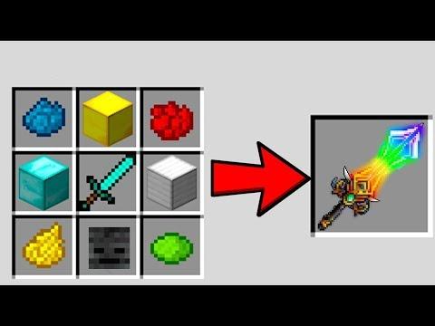 WİTHER'İN GİZLİ BİLİNMEYEN KILICI NASIL YAPILIR? - Minecraft