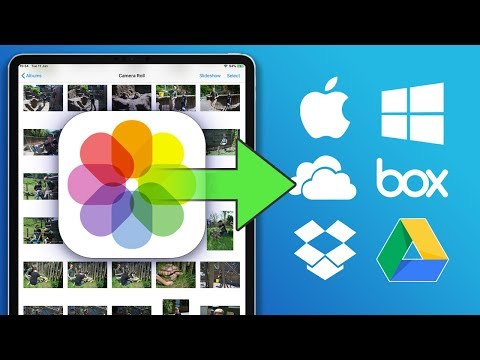 How to backup your iPhone / iPad photos to a computer or the cloud (2019)