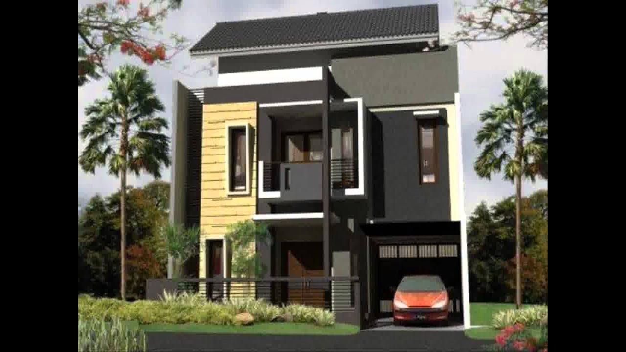 Desain Rumah Minimalis Nuansa Biru