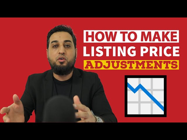 How to Make Price Adjustments to Listings Without Pissing Off Sellers