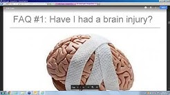 Management of Symptoms of Mild Traumatic Brain Injury