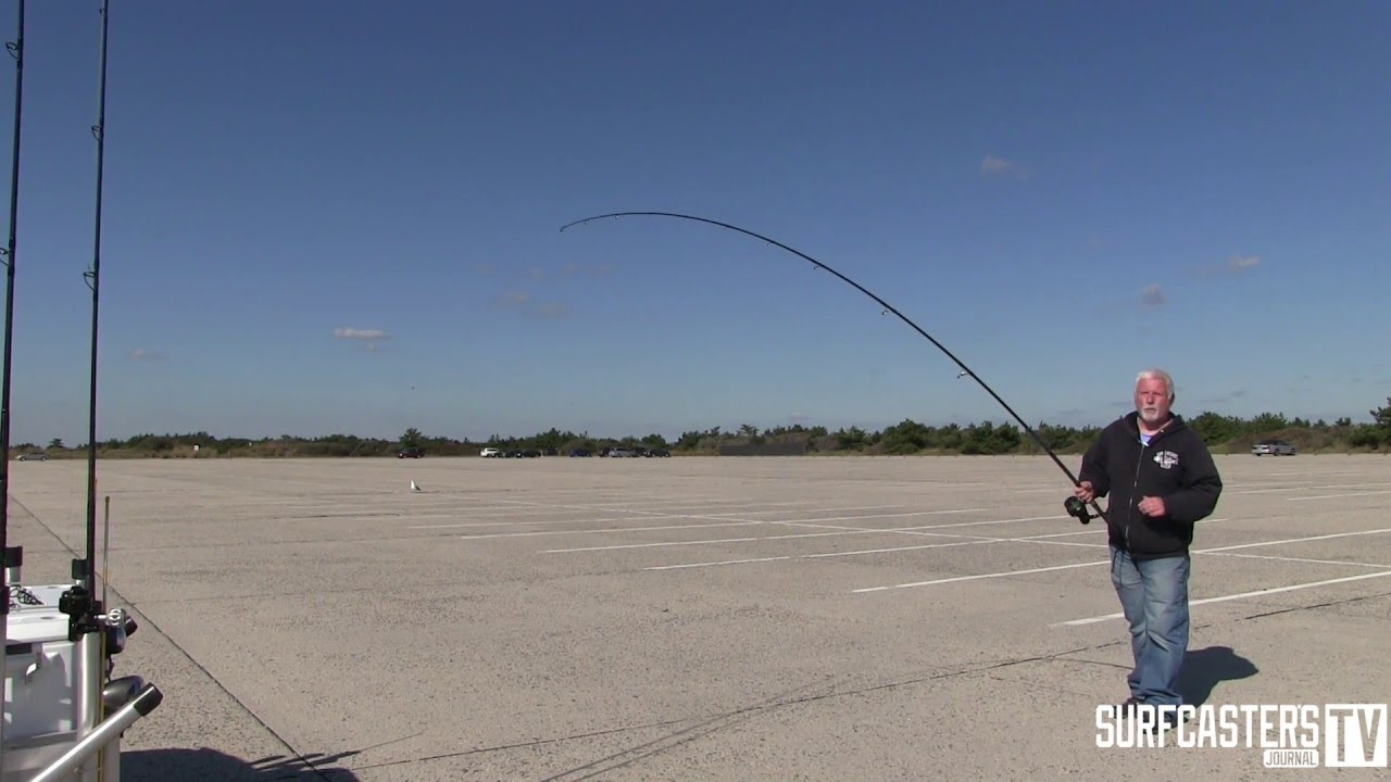 Watch How to Cast With a Surf Rod on a Beach video
