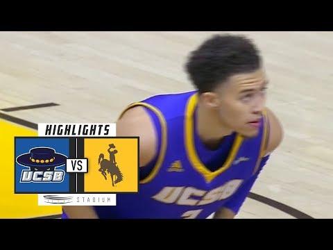 UC Santa Barbara Vs. Wyoming Basketball Highlights (2018-19) | Stadium