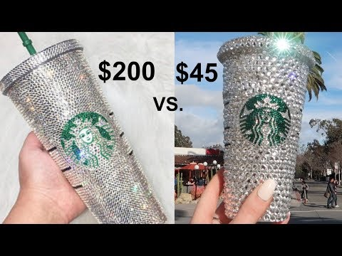 DIY Swarovski Starbucks Cup