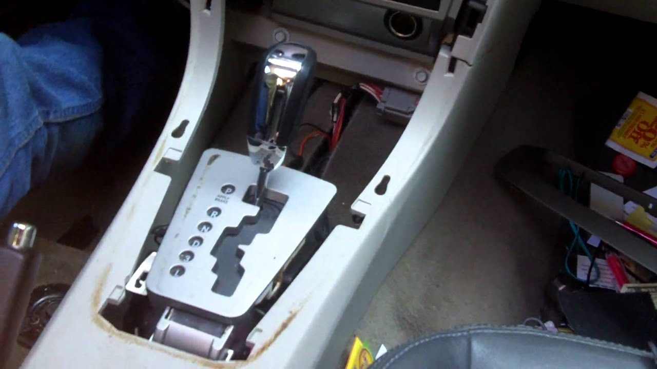 Fuse Box On 2006 Dodge Charger Dodge Avenger Stuck In Park Quick Fix Youtube