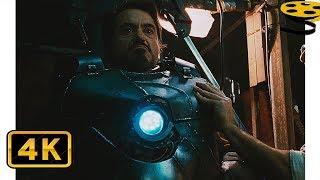 Побег Тони Старка и Хо Инсена (Часть 1) | Железный человек (2008) HD