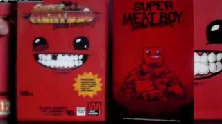 Unboxing : Super Meat Boy Ultra Rare Edition (EURO version)