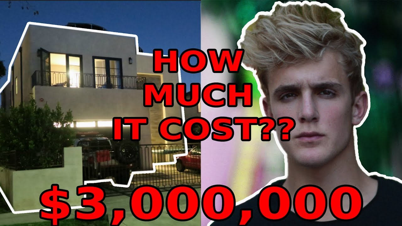 HOW MUCH DOES JAKE PAULSTEAM10 HOUSE COST  YouTube