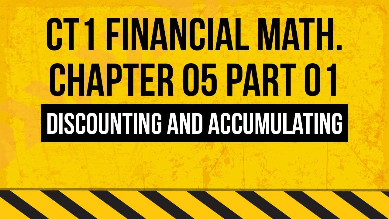 ct1 financial mathematics pdf download