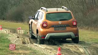 838   Test   Dacia Duster   24h on road off road endurance test