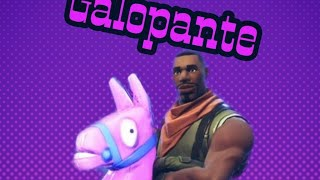 The Galloping's Secret Gesture!!! Fortnite Battle Royale!!!!!