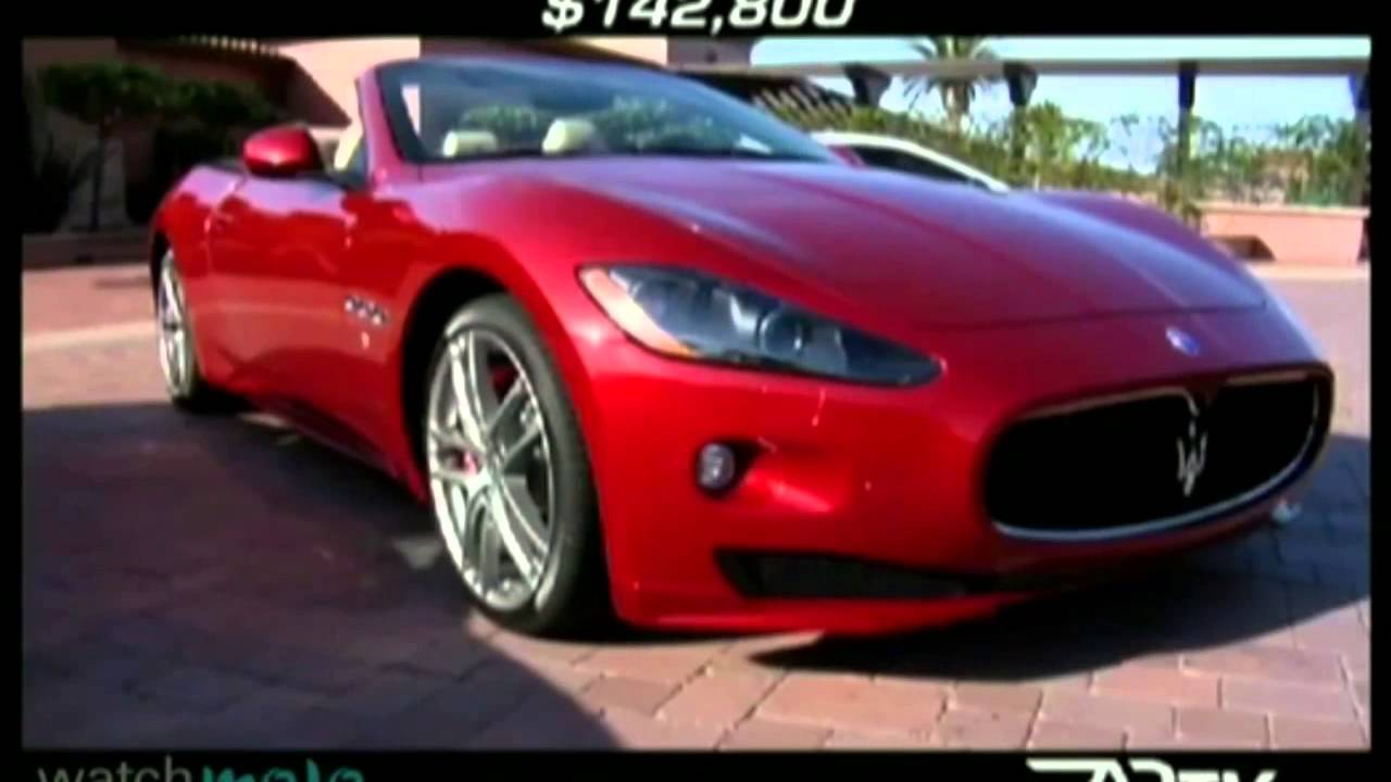 Los Mejores Autos De Lujo Maserati Youtube