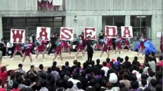 応援曲メドレー 稲稜祭 早稲田本庄應援部