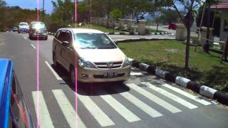 TKCI menuju Kantor Gubernur Gorontalo