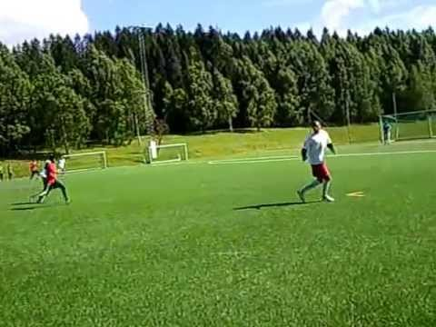Eritreisk Ungdommer i Oslo sports aktiviteter. Juni 2013. Se video.