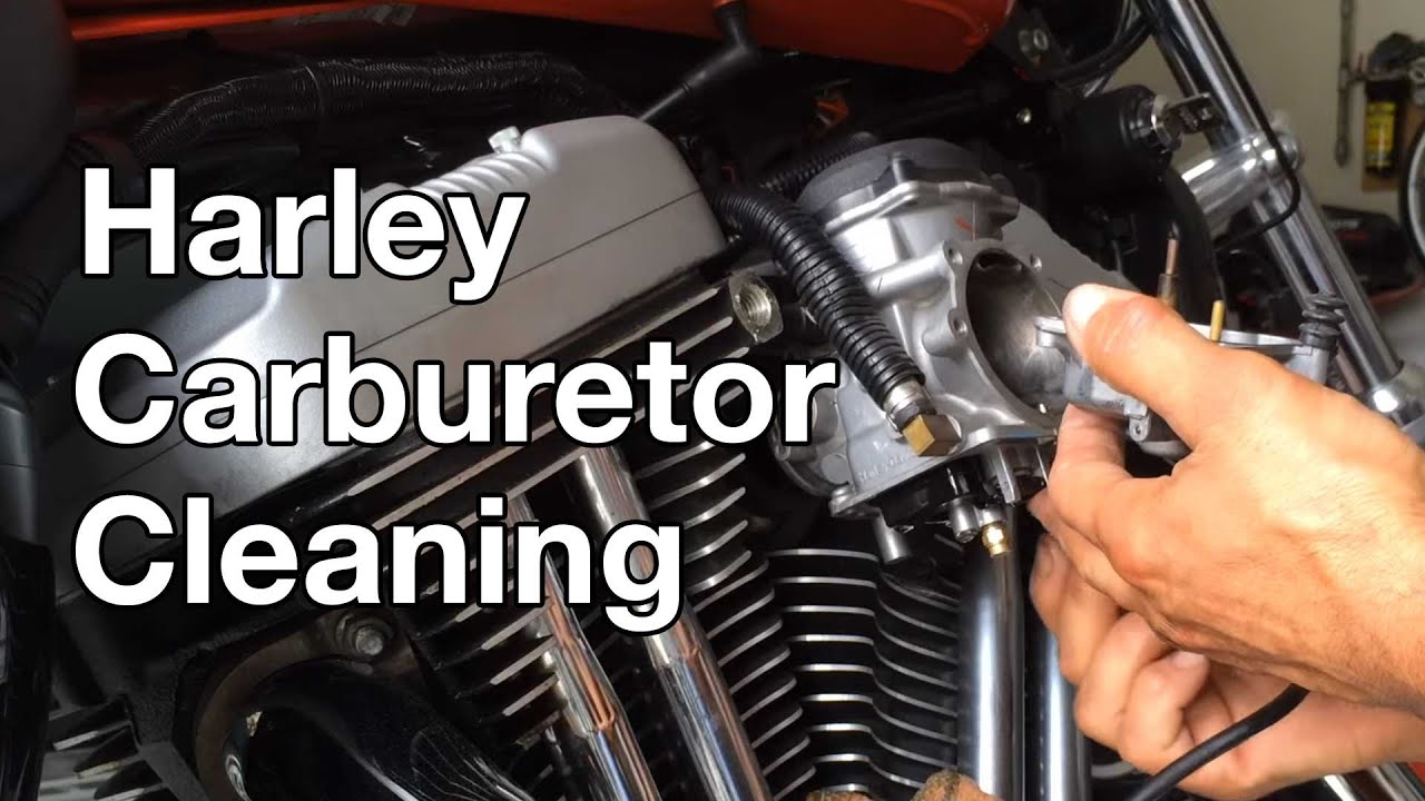 How To: Harley Davidson Sportster Carburetor Cleaning  YouTube
