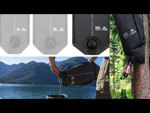 MSR 10 Liter Dromedary Bag   Water Storage Bag Part 1