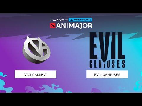 Vici Gaming vs Evil Geniuses | WePlay - AniMajor