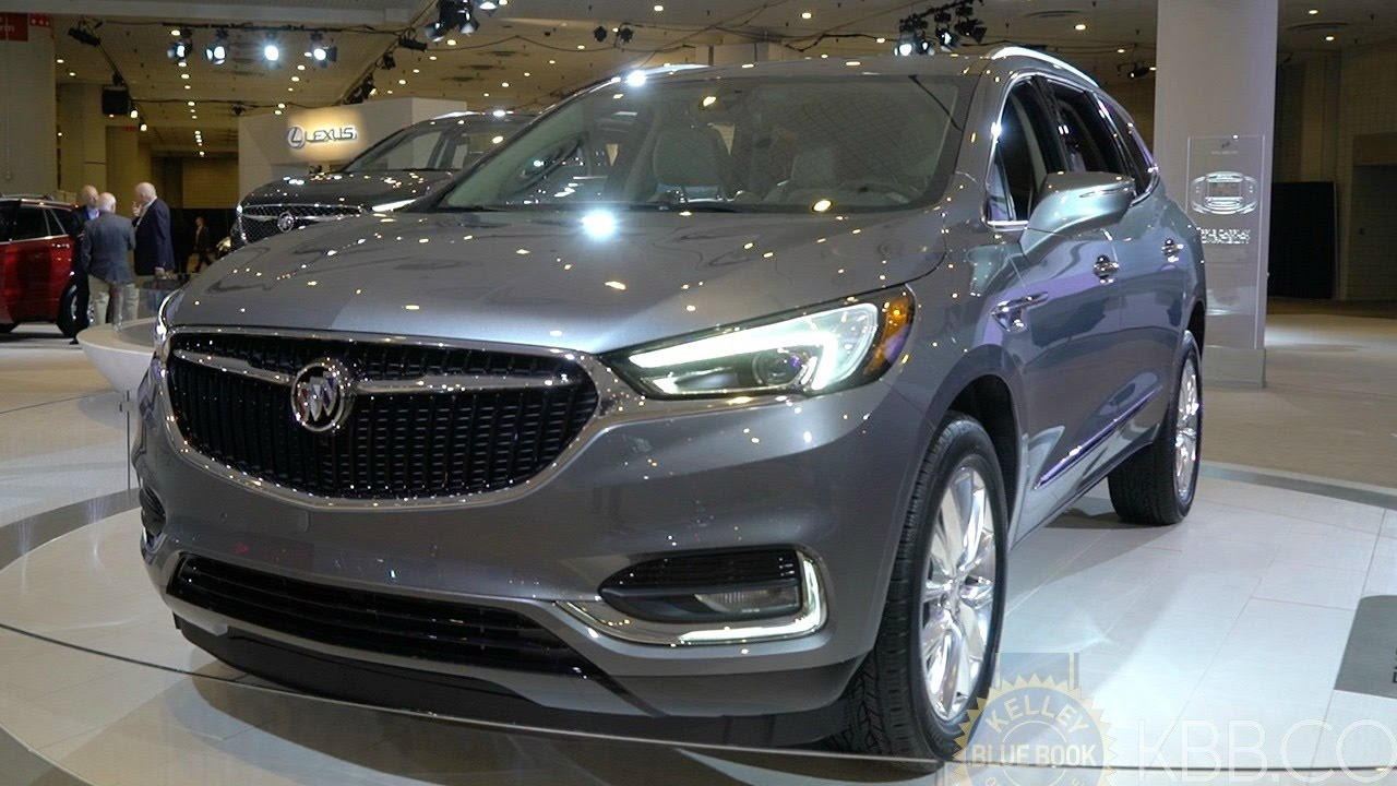 2018 Buick Enclave 2017 New York Auto Show