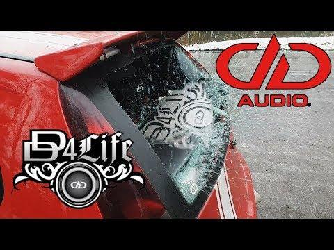 DD4Life Window Smash With +160dB Bass DD Audio Soundigital #puntodemobuild