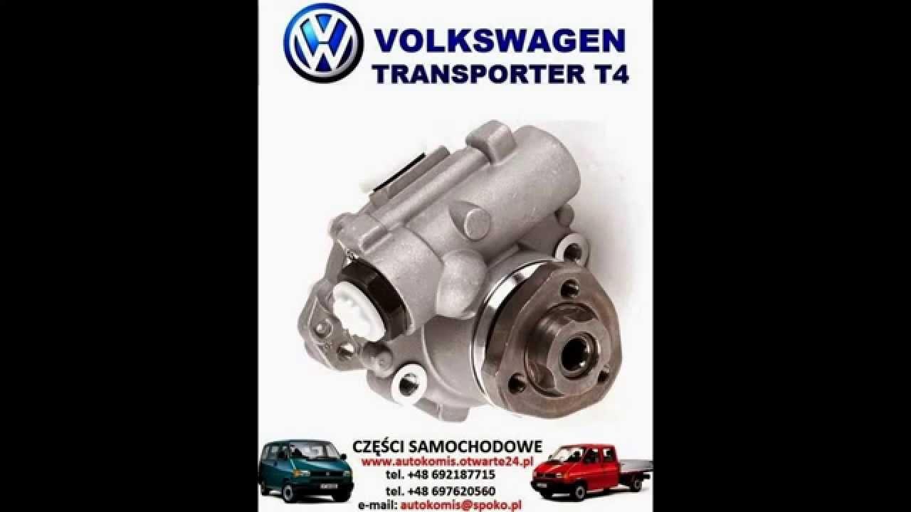 pompa wspomagania volkswagen transporter vw t4 1,9 td 2,0 2,4 d 2