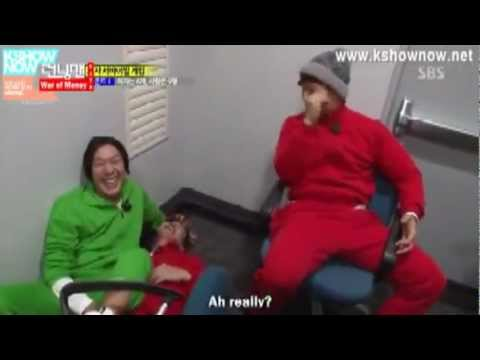 The most funny moment in RunningMan (HaHa and Jong Kook)
