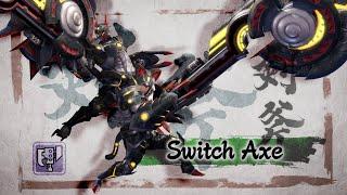 Monster Hunter Rise - Switch Axe