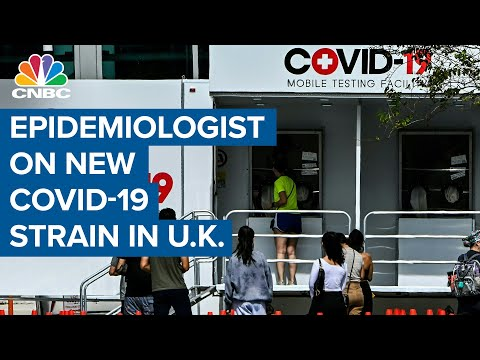 Epidemiologist on new Covid-19 strain in the United Kingdom