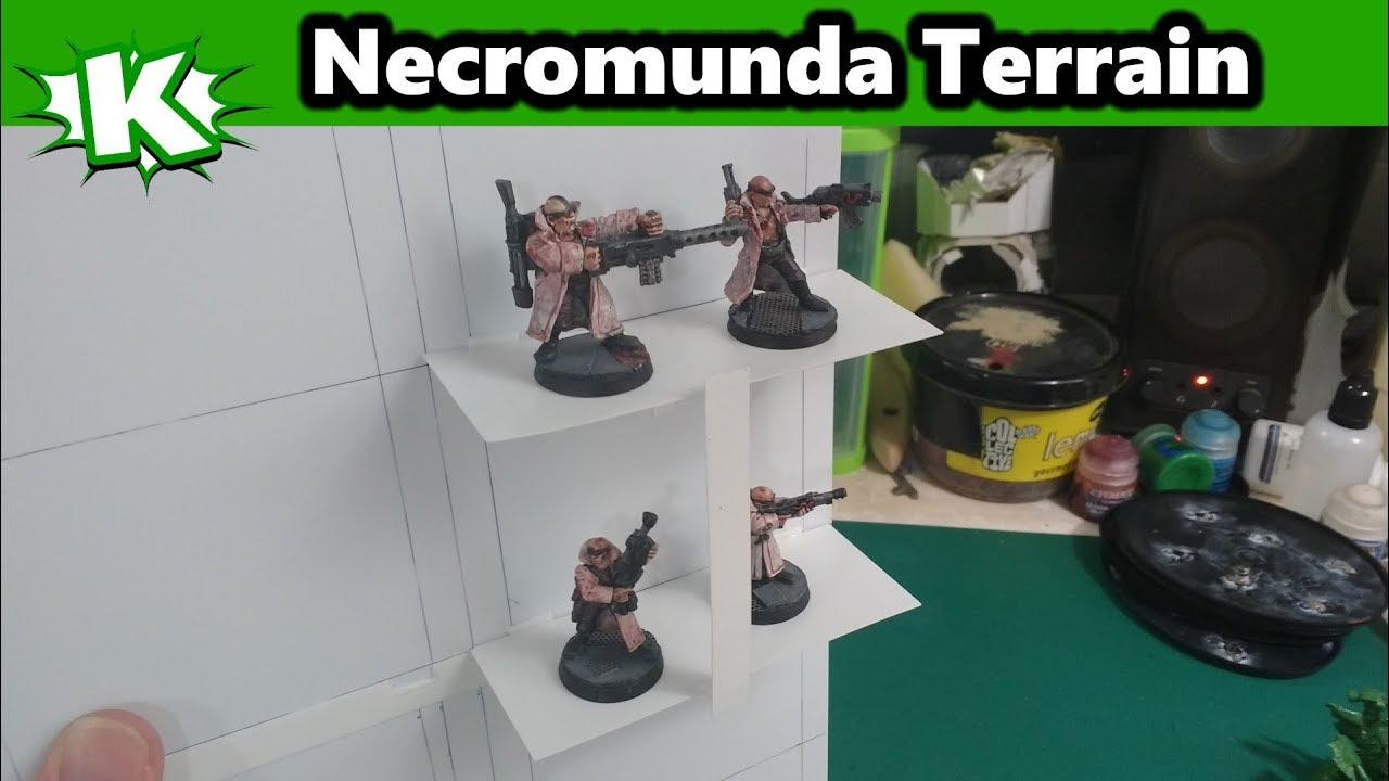 Modular Necromunda Table Terrain Concept
