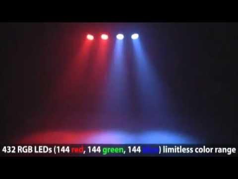 Par Led set RGB Effetti luce - Light Effects - Disco - Club -Dj http://shop.dstechnology.it/