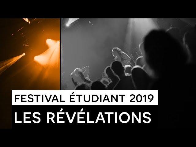[CLIP] : Festival étudiant 2019 - Les Révélations