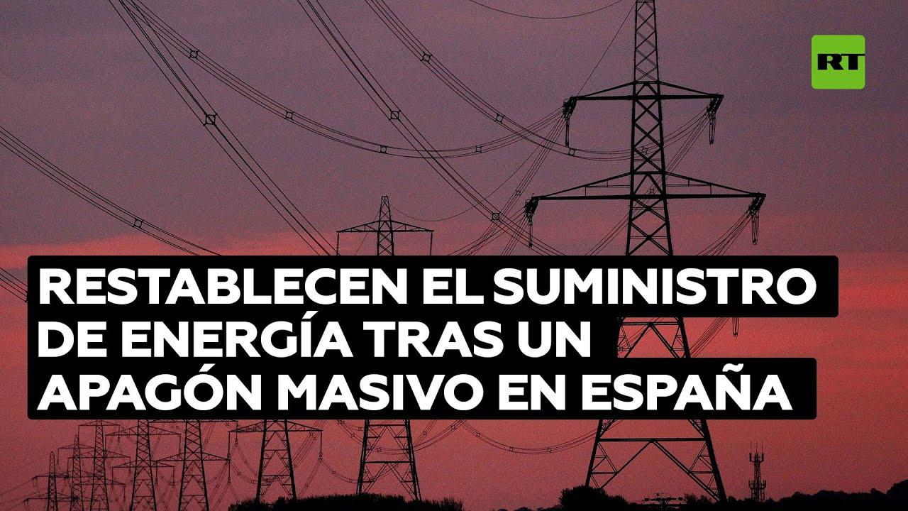 España restablece la electricidad tras un corte de suministro con Francia