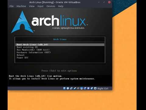 How to Install Arch Linux on VirtualBox | Facing the same problems you  might face