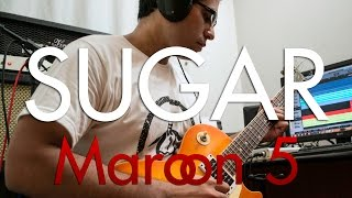 Maroon 5 - Sugar | electric guitar cover (instrumental)