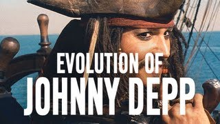 Johnny Depp - The Evolution Of Johnny Depp