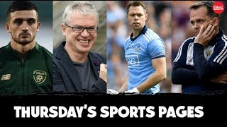 The greatest-ever gaelic match? | Davy speculation | Brolly fallout | Calling for Parrott