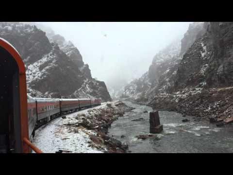 Snow at Royal Gorge Colorado - Royal Gorge Railroad