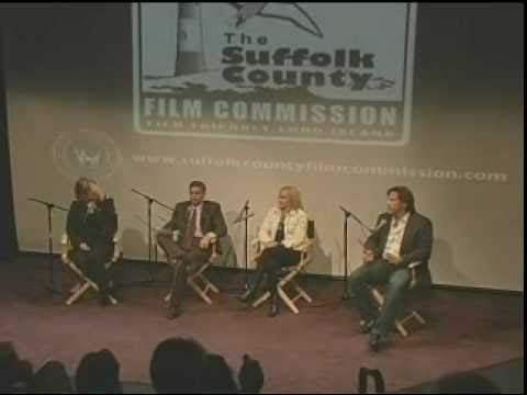 Suffolk County Executive Steve Levy leads panel to discusses  filmmaking on LI